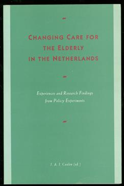 Changing care for the elderly in the Netherlands.