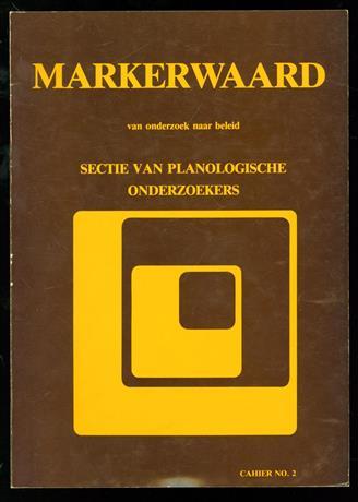 Markerwaard van onderzoek naar beleid. Resultaten van de gelijknamige studiedag gehouden op 6 Mei 1981