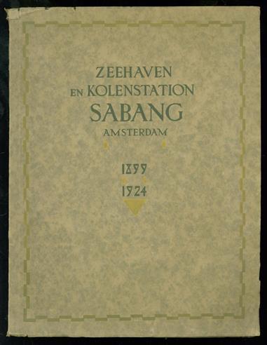 Zeehaven en kolenstation Sabang 1899 - 1924