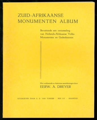 Zuid-Afrikaanse monumenten album