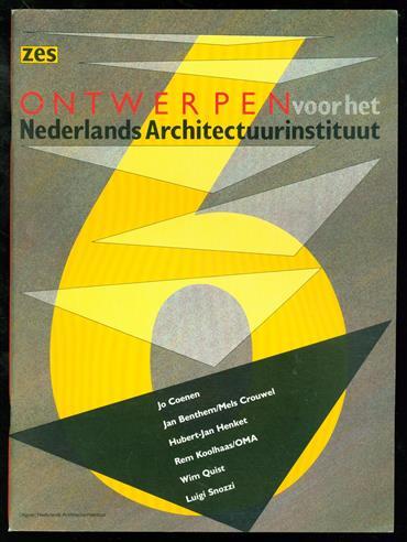6 ontwerpen voor het Nederlands Architectuurinstituut