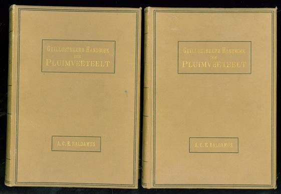 Geillustreerd Handboek der Pluimveeteelt ( = Handbook of Poultry ) In 2 delen naar den derden druk voor Nederland bewerkt met 240 afbeeldingen ( 102 + 138 gravures )