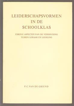 Leiderschapsvormen in de schoolklas