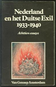 Nederland en het Duitse exil 1933-1940