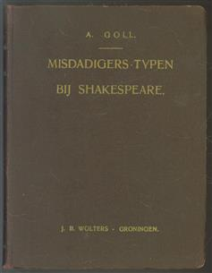 Misdadigers-typen bij Shakespeare