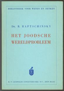 Het Joodsche wereldprobleem
