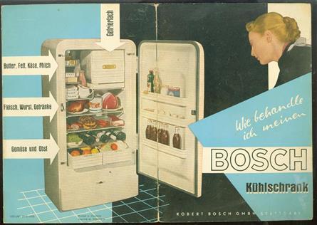 (BROCHURE) Wie behandle ich meinen Bosch Kühlschrank
