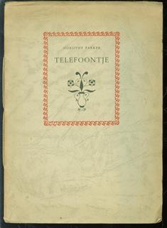 Telefoontje ( model voor de uitgever )