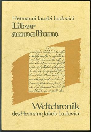 Liber annalium : 1770-1800 ; Veröffentlichung der Stadt Langenfeld und der Pfarrgemeinde Sankt Martin = Weltchronik