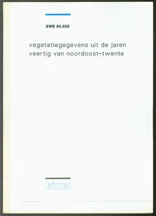 Vegetatiegegevens uit de jaren veertig van Noordoost-Twente