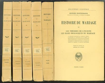 Histoire du mariage.
