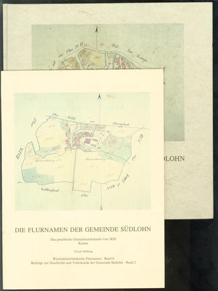 Die Flurnamen der Gemeinde Südlohn : das preussische Grundsteuerkataster von 1826