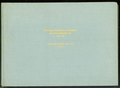 Vorläufiges Verzeichnis der Konzentrationslager und deren
