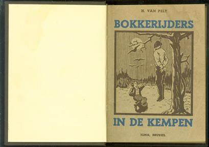Bokkerijders in de Kempen : verhaal der bandieterijen in N.-Limburg gedurende de tweede helft der 18e eeuw