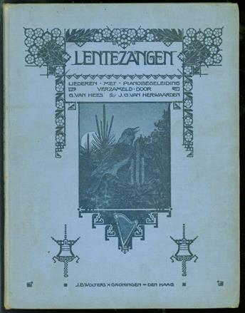 Lentezangen, uitgave met piano- of orgelbegeleiding