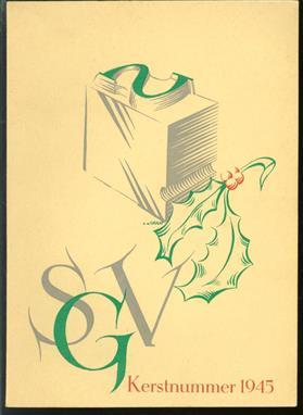 School voor grafische vakken Kerstnummer 1945 ( Tampon )