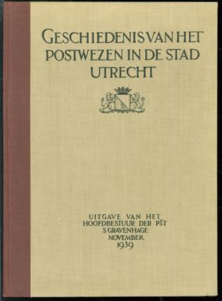 Geschiedenis van het postwezen in de stad Utrecht