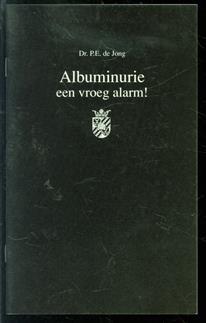 Albuminurie:  een vroeg alarm!