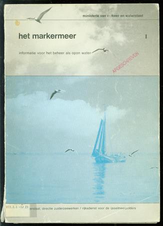 Het Markermeer : informatie voor het beheer als open water