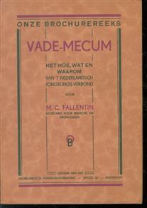 Vade-mecum : het hoe, wat en waarom van het Nederlandsch Jongelingsverbond