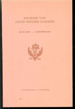 Dagboek van Jacob Hendrik Schorer