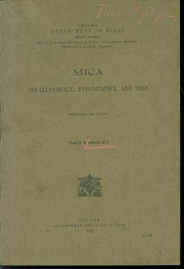 Mica : its occurence, exploitation and uses