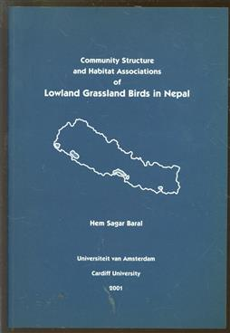 Community structure and habitat associations of lowland grassland birds in Nepal