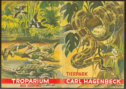 Tierpark Carl Hagenbeck : Führer