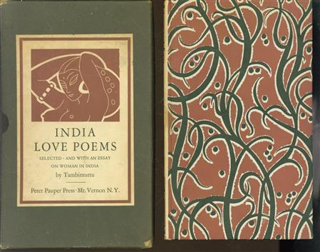 India love poems : selected and with an essay on woman in India