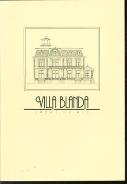 Villa Blanda te Zeist : zwart op wit