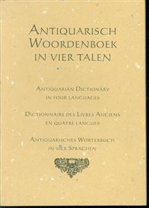 Antiquarisch woordenboek in vier talen