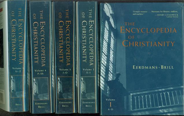 The encyclopedia of Christianity. COMPLETE SET : Vol. 1-5 : A-Z