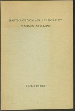 Hartmann von Aue als Moralist in seinen Artusepen