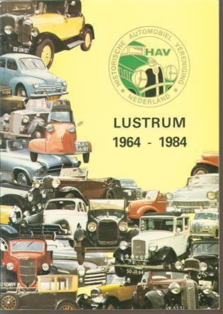 Historische Automobiel Vereniging Nederland : lustrum 1964-1984