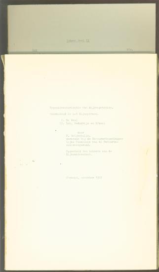 Typeninventarisatie van dijkvegetaties, voorkomend in het Rijnsysteem