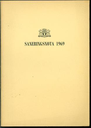Saneringsnota 1969