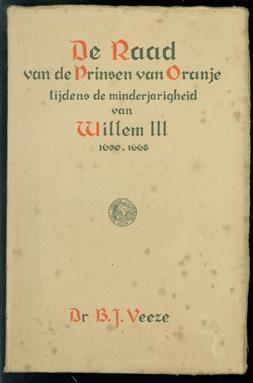 De Raad van de prinsen van Oranje tijdens de minderjarigheid van Willem III, 1650-1668
