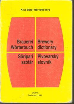 Brauerei-Wörterbuch = Brewery-dictionary