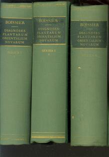 Diagnoses Plantarum Orientalium Novarum. 1 Serie I; Nr. 1-7