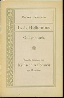 Speciale catalogus van Kruis en Aalbessen op hoogstam