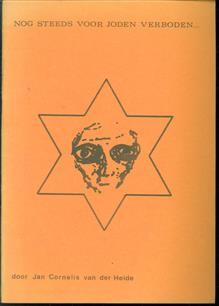 Nog steeds voor Joden verboden ...