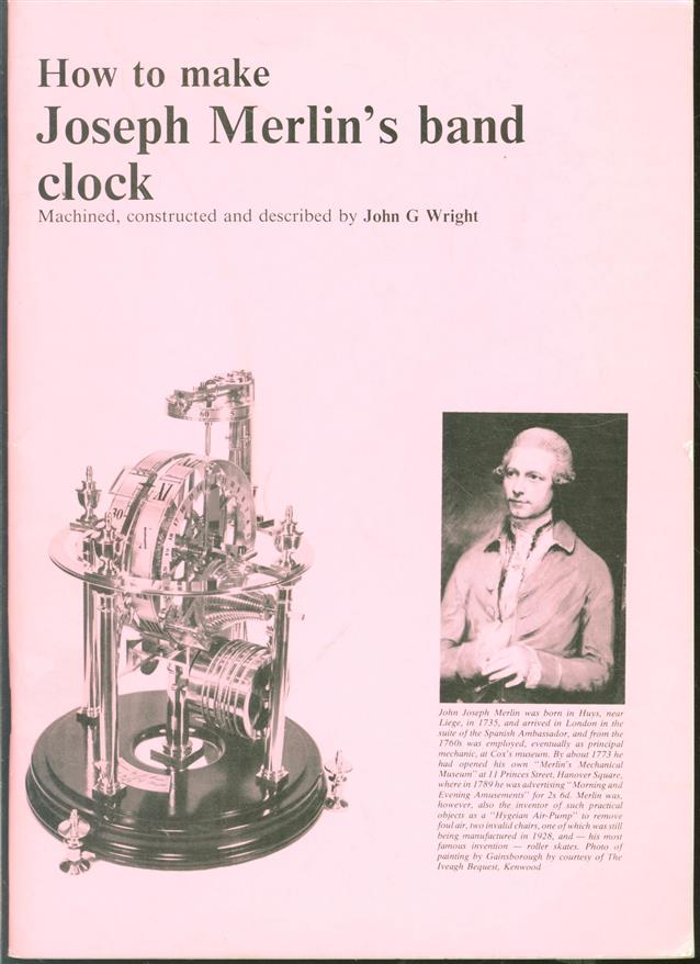 How to make Joseph Merlin's band clock