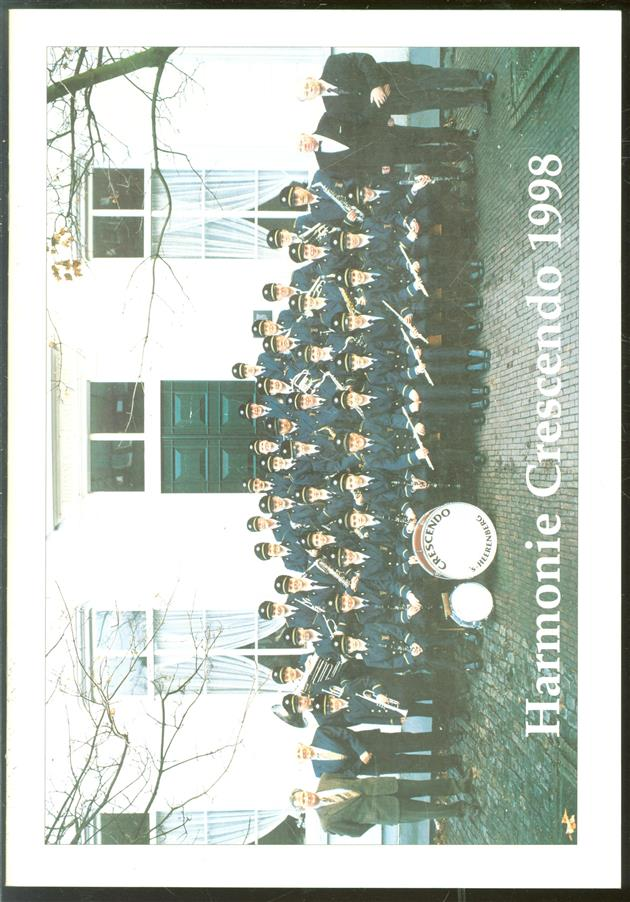 Harmonie Crescendo 75 jaar.