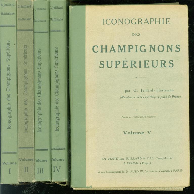 Iconographie des champignons supérieurs ( complete set )