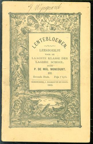 No. 3, Lentebloemen : leesboekje voor de laagste klasse der lagere school