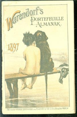 Warendorf's portefeuille almanak 1897. premie op warendorf's geïllustreerde familiekalender
