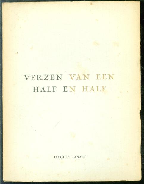Verzen van een half en half