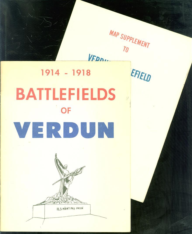 (BROCHURE) Battlefields of Verdun : 1914-1918