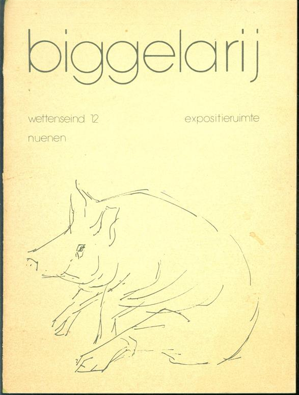 Tentoonstelling van wandkleden en etsen van Marijke Raaijmakers-Weber [De Biggelarij, 1975].