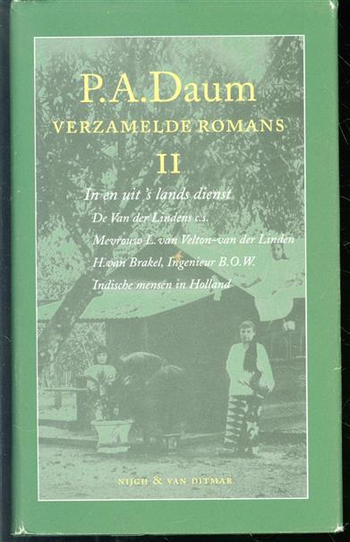 In en uit 's lands dienst: De Van der Lindens c.s. ; Mevrouw L. van Velton-van der Linden ; H. van Brakel, Ingenieur B.O.W. ; Indische mensen in Holland